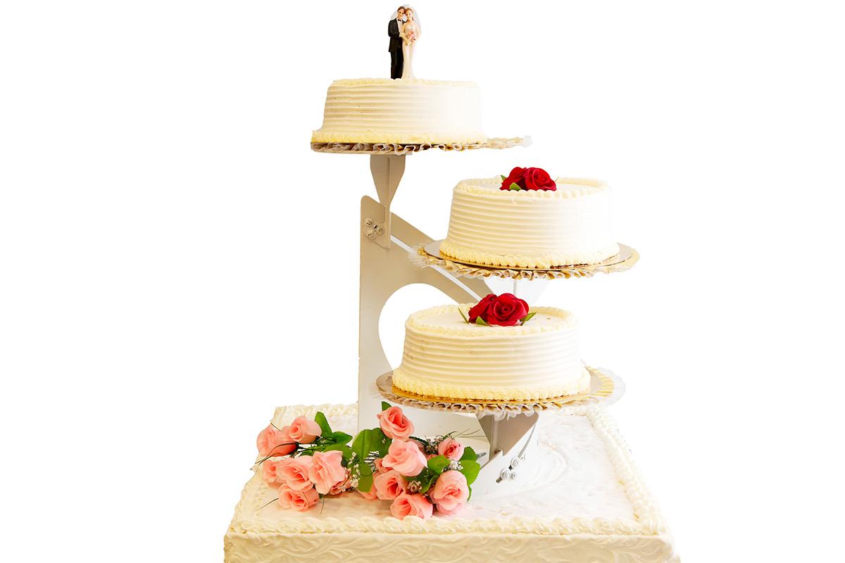 Gâteau mariage 3 étages