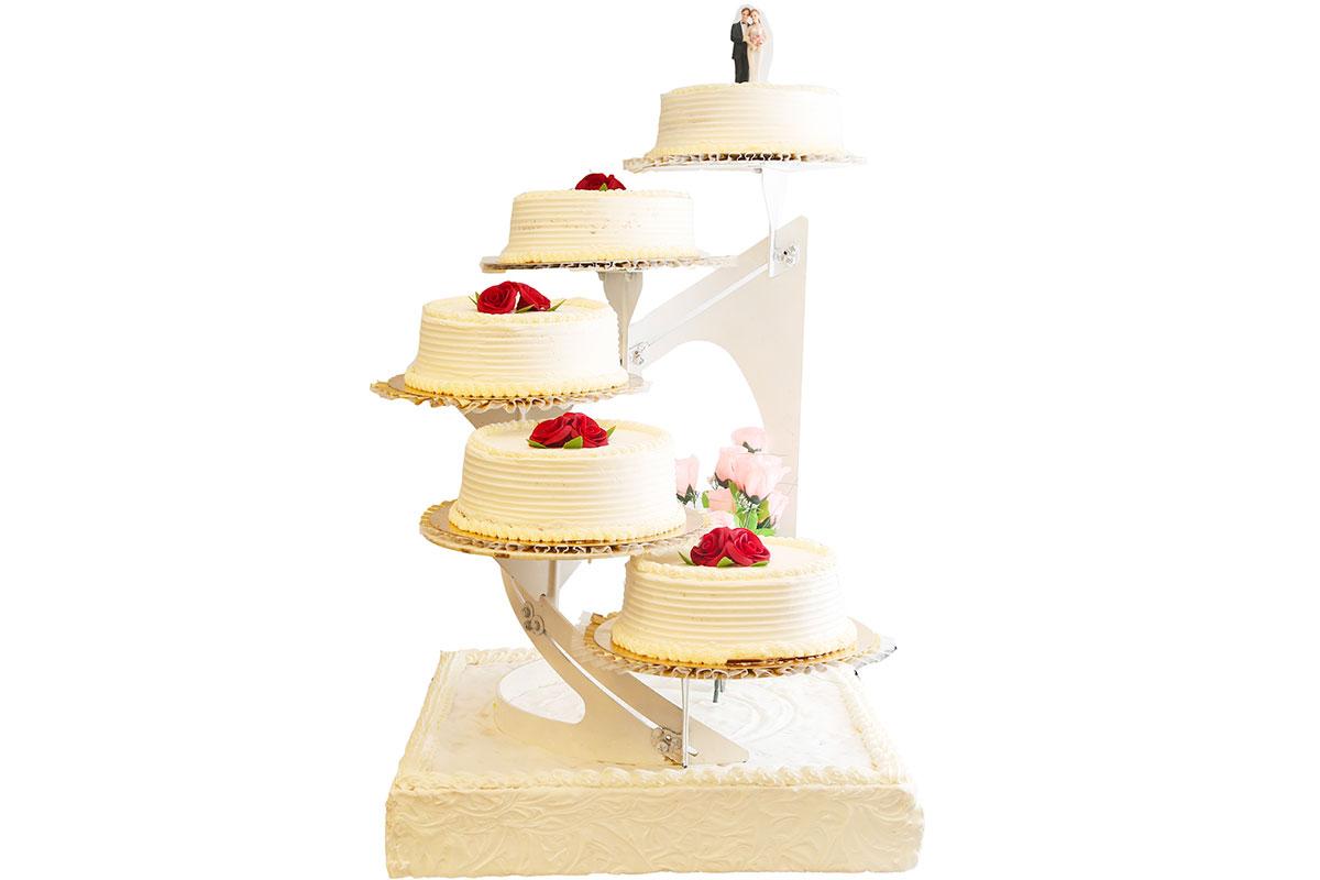 Gâteau mariage 5 étages